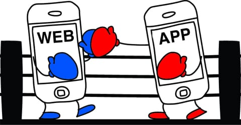 The Mobile Battle: Website vs App