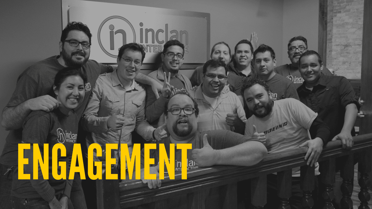 Things we have learned about the engagement of our team members.